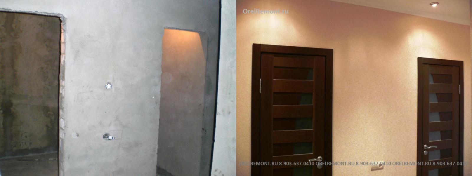 Ремонт в новостройке двухкомнатной квартиры фото